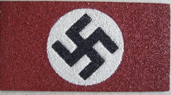 ナチス国旗型ラバーシート