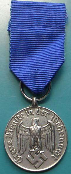 陸軍年功章メダル