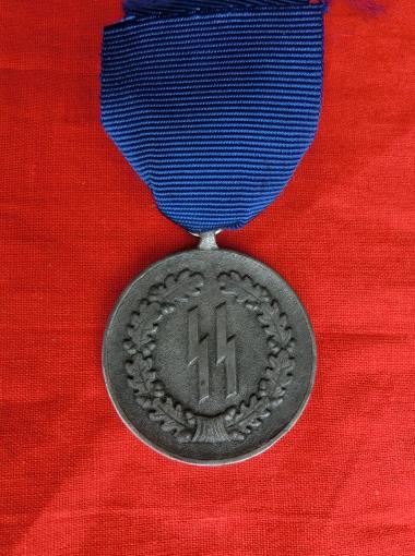 SS年功章メダル4年