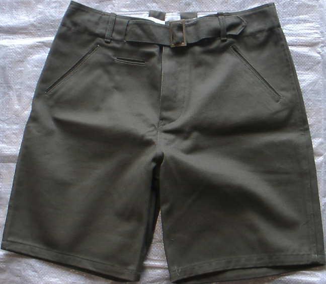 陸軍熱帯用半ズボン