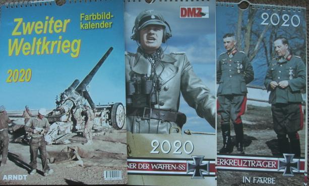 2020ドイツ軍WW2カレンダー