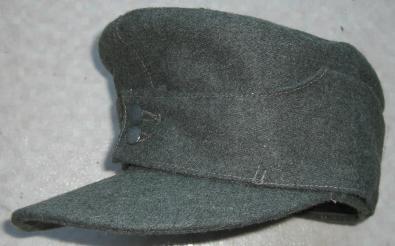 M43規格帽ウールタイプグレー色
