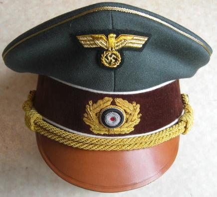 ヒトラー総統制帽