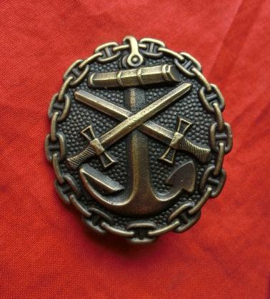 海軍WW1戦傷ドイツ ブントメタルタイプ