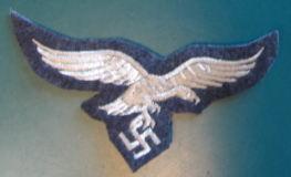青灰空軍胸鷲章兵