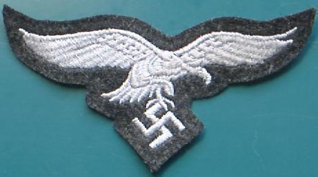 空軍胸鷲章兵灰青黒