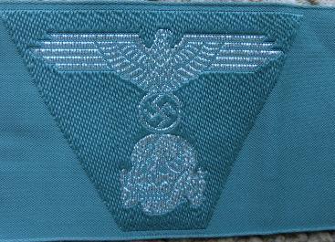 士官SS規格帽用帽章ベボシート