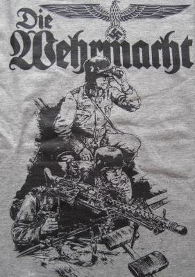 MG34機関銃チームTシャツ