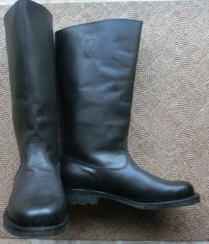 ジャックブーツ黒長靴