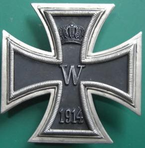 1914ww1 1級鉄十字