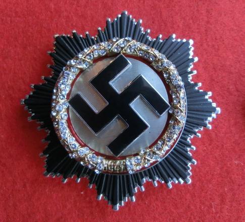 ダイヤ黄金ドイツ十字章