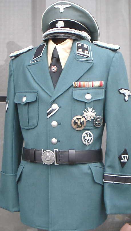 M38SDSSグレー緑服