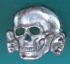 金属SSドクロ帽章36型