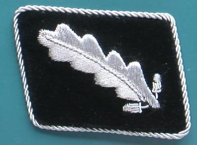 SS大佐襟章 初期