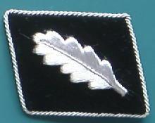 SS大佐襟章中期