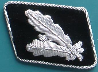 SS准将襟章後期