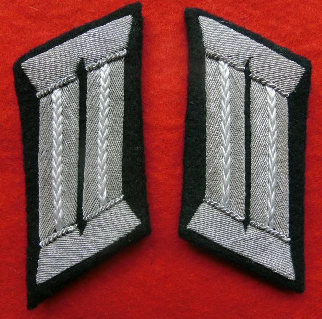 歩兵陸軍将校襟章