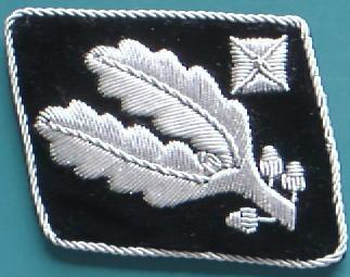 SS少将襟章初期