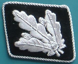 SS少将後期型襟章