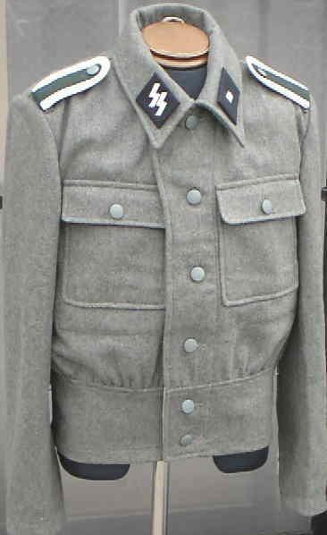 M44野戦服短上着(WSS肩章廉価版つき黒台)