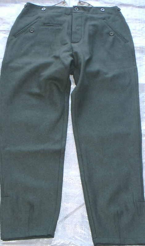ストレート野戦ズボン