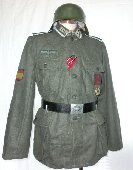 M40野戦服(WSS歩兵肩章廉価版つき黒台)