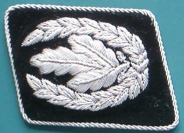 SS長官襟章