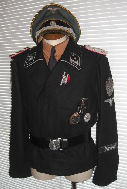武装SS戦車服