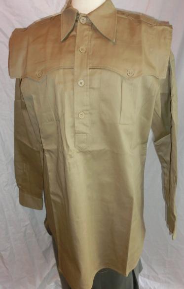 イタリアン熱帯シャツ綿
