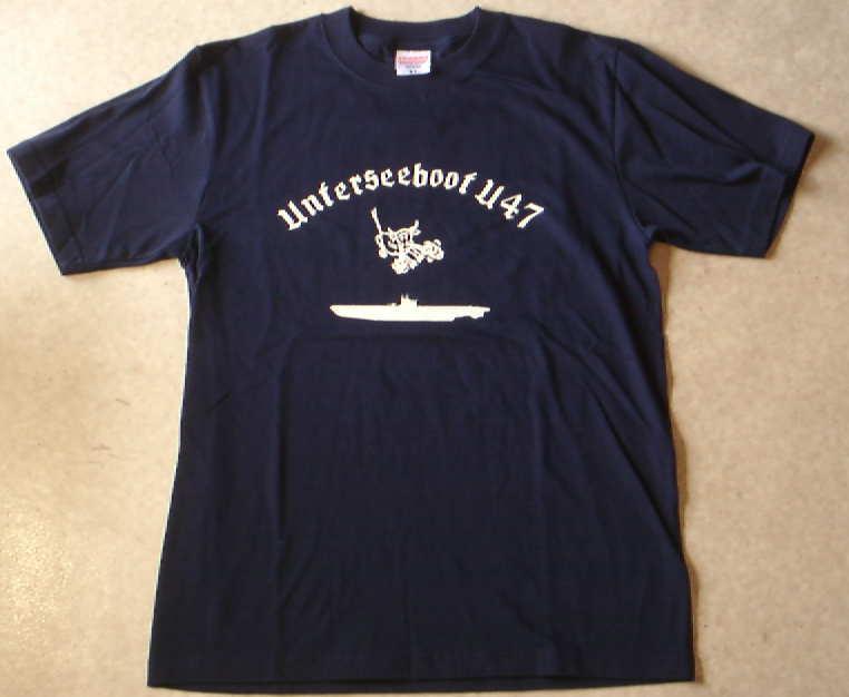 U47UボートTシャツ