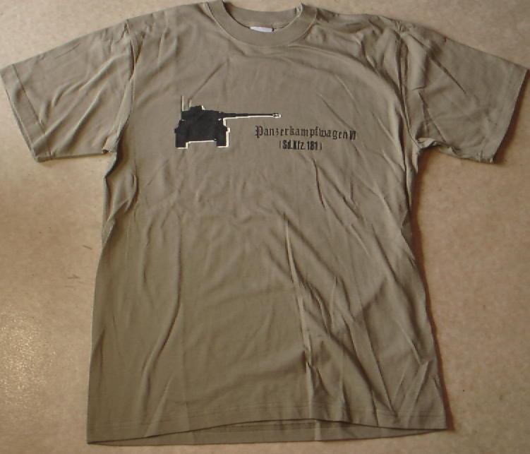 タイガー1Sdkfz181Tシャツ