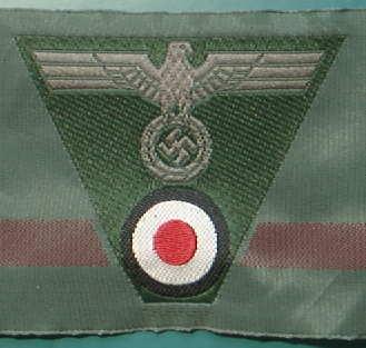 陸軍帽章BEVO兵
