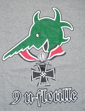 第9戦隊UボートTシャツ