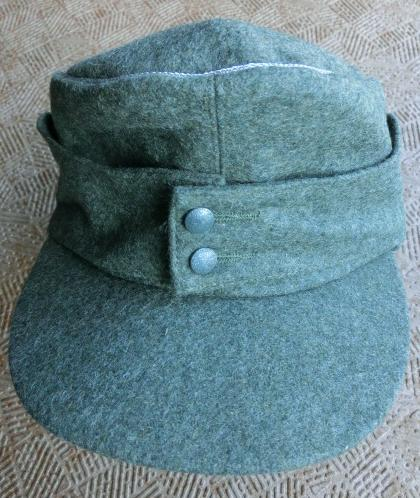 士官M43規格帽廉価版 Fグレー生地