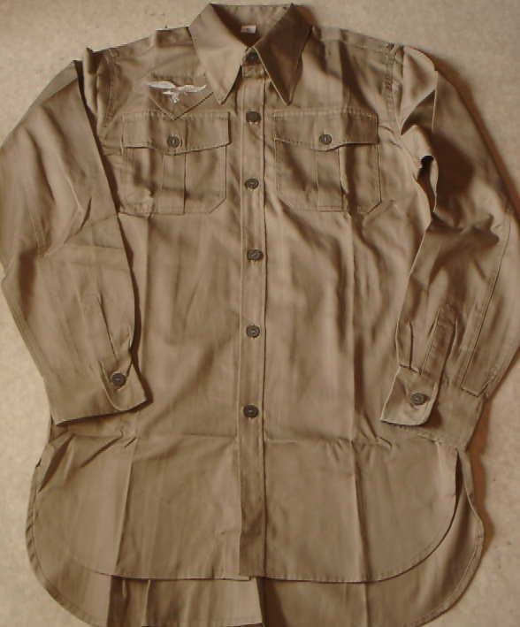 空軍熱帯向けシャツ
