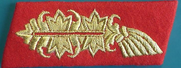 陸軍将官襟章