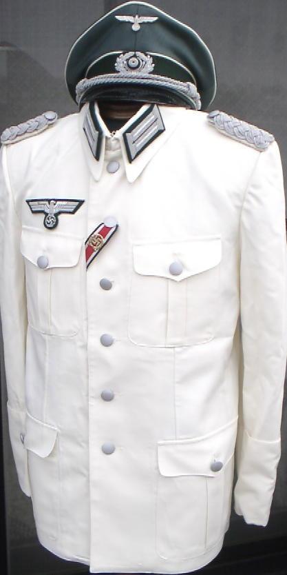 独軍35型ホワイトジャケット