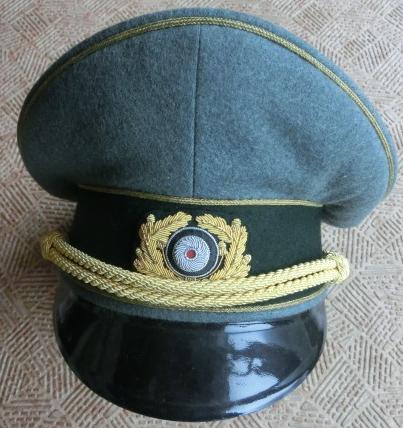 ヤンケ陸軍将官制帽(生地特注)
