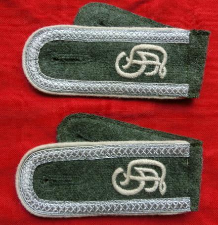GD下士官後期刺繍歩兵肩章