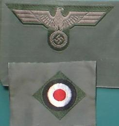 陸軍BEVO帽章2ピース