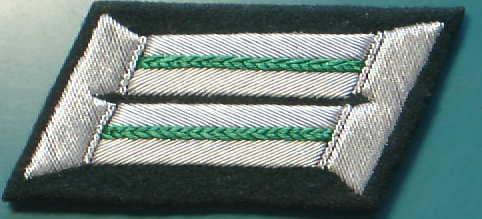 山岳将校襟章