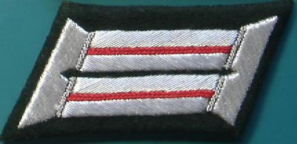 砲兵将校襟章