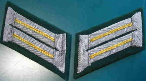 憲兵将校襟章
