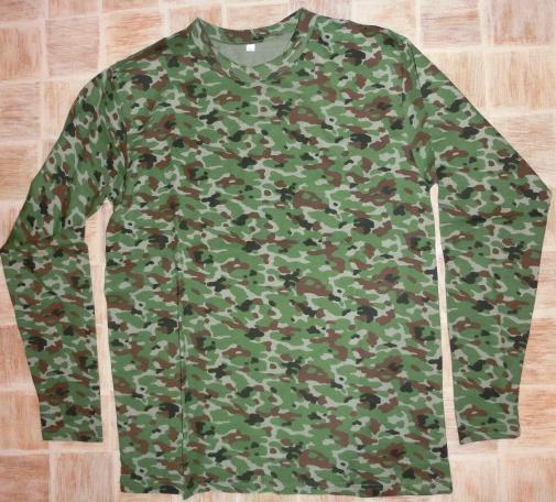 自衛隊迷彩Tシャツ袖ロング