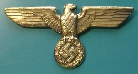 金NSDAP鷲帽章