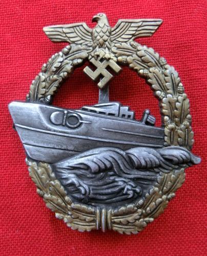 Eボート章後期型