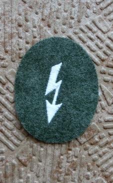 電光通信手徽章腕章