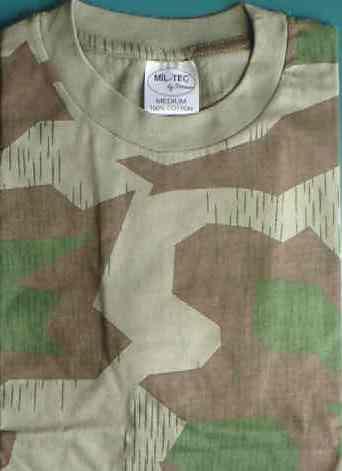 スプリンター迷彩 Tシャツ