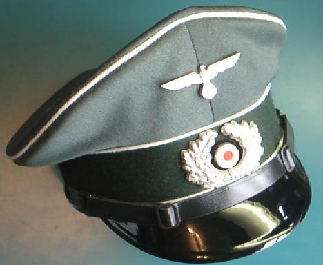 陸軍下士官制帽/士官生地