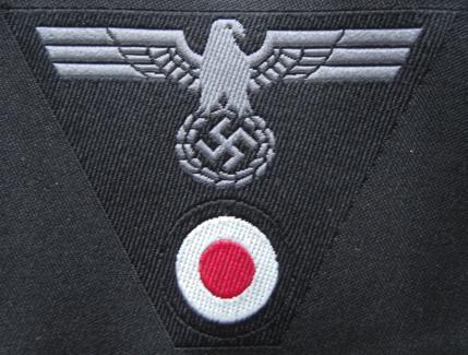 陸軍機甲Pz帽章 兵用